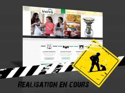 Site internet - Inova Thermomix